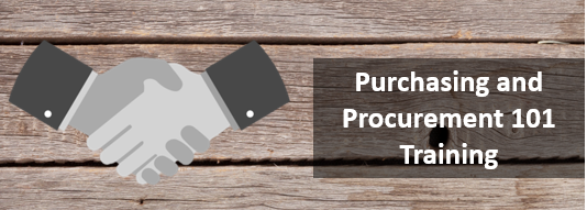 Purchasing and Procurement 101:Required training for Procurement and Contract Professionals who work pre-award for Washington State.