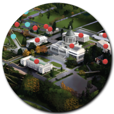 Decorative Image linking to Campus Interactive Map